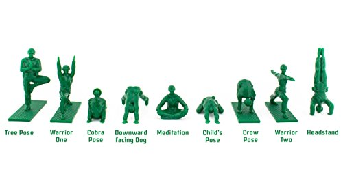 Brogamats Yoga Joes Series 1 Green