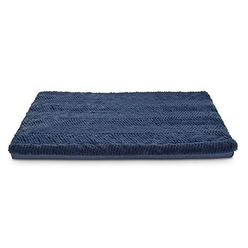 Petco Brand - You & Me Orthopedic & Memory Foam Blue Dog Mat, 30