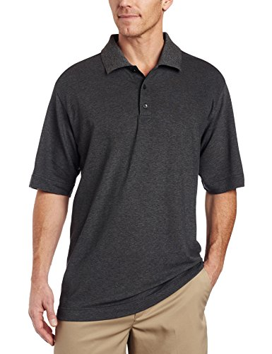 Cutter & Buck Men's CB Drytec Championship Polo, Charcoal, X-Large