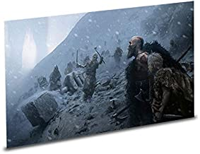 God of War PS4 Playstation 4 Collector's Edition Lithograph