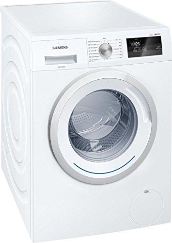 Lave linge Hublot Siemens WM14N060FF - Lave linge Frontal - Pose libre - capacité : 7 Kg - Vitesse d'essorage maxi 1400 tr/min - Moteur à induction - Classe A+++ -10%