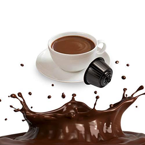 Kickkick Cioccolato Compatibili Nescafe dolce Gusto - Cialde alla Cioccolata Solubile - 32 Capsule