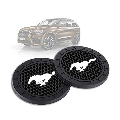car Coaster 2 pcs 2.75 inches (Approximately 7.0 cm) car Cup Holder Suitable for...