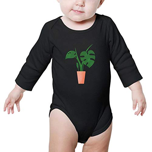 Unisex Baby Long Sleeve Bodysuit Cotton Bonsai Tree Funny Cute Onesies