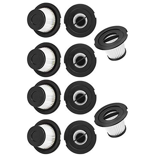 Nrpfell 10 PièCes SéRies Filtre Hepa de Remplacement pour PièCes D'Aspirateur sans Fil Dibea C17 T6 T1