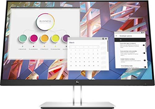 HP E24 G4 LED-Monitor, schwarz, FullHD, IPS, USB-Hub