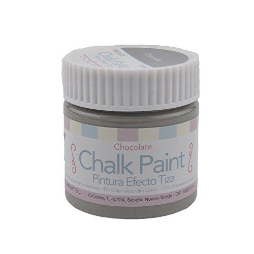 MP - Pintura Acrílica, Pintura Efecto Tiza, Color Cemento