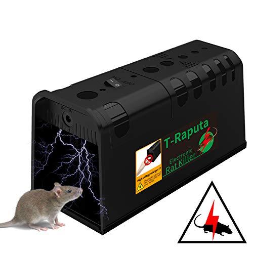 T-Raputa Trampa para Ratones,para capturar Ratones, Ratas, plagas y roedores en Interiores y Exteriores