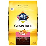 Nature's Recipe Grain Free Dry Dog Food, Salmon, Sweet Potato &...