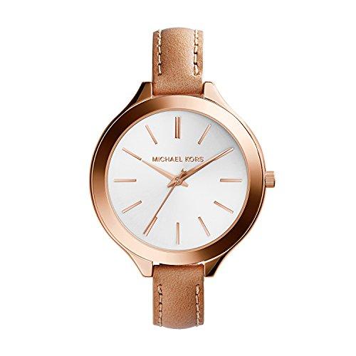Michael Kors Women's Runway Brown Watch MK2284