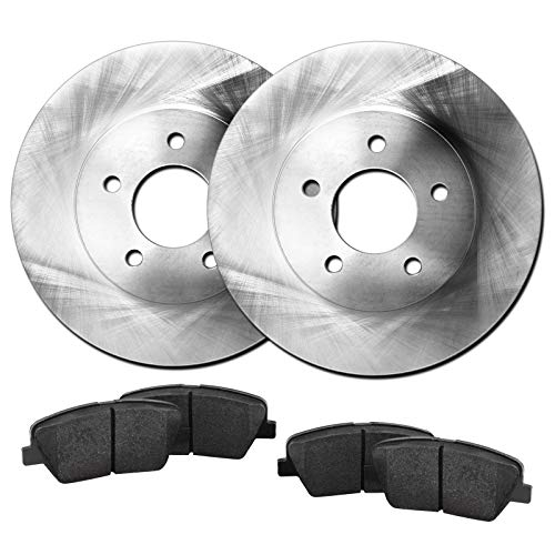 Fits Isuzu Trooper, Pickup, Amigo Front Blank Brake Rotors Kit+Ceramic Brake Pads