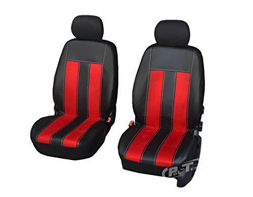 Nieuwe serie - GT universele stoelhoezen compatibel met Peugeot 206 eenvoudige montage voorste hoezen GT SPEED
