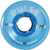 Atom Pulse Outdoor Roller Skate Wheels (Blue)