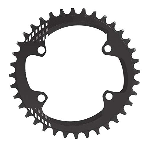Fahrradkettenblatt, BCD 96MM schmal breit 32T 36T 38T Kettenblatt Einzelkettenblatt für M6000 M7000 M8000(32T-Schwarz)
