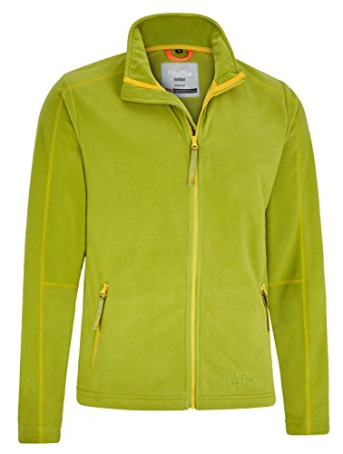 Fifty Five Herren Micro Fleecejacke Windstopper Greenwood Grün XL