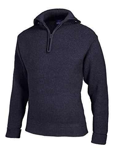 Troyer - Jersey de marinero para hombre (100% lana virgen, talla 44-64), color azul marino marine 52
