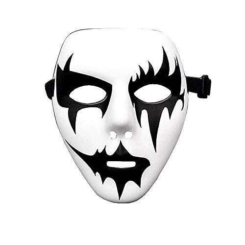 Mscara Jabbawockeez Hip Hop Fantasma Beso Joker Pierrot Disfraz Blanco Mod.4
