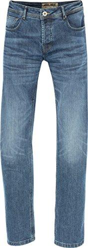Büse Detroit lengte 36 - heren motorfiets jeans L36 blauw