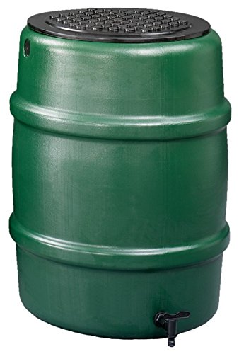 Harcostar 114 litre Water Butt + Raintrap Diverter + Stand