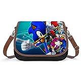 Cool Sonic - Bolso de mano vintage para mujer, bolso de hombro retro, bolsa de axilas