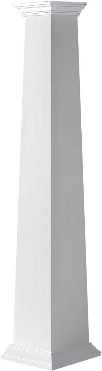 Cheap ! Super beauty product restock quality top! bargain Ekena Millwork CC1210ETPCRCR Column White