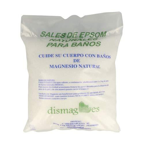 Sac Sel d'Epsom 4 Kg, Source concentrée de Magnésium, Sel 100% Naturel. Bain et Soins Personnels.Promotion, Livraison 24h