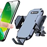 VICSEED Car Phone Holder Mount, [Upgrade Doesn't Slip & Drop] Air Vent Cell Phone Holder for Car Hands Free Easy Clamp Cradle in Vehicle Compatible with All Apple iPhone Android Smartphone