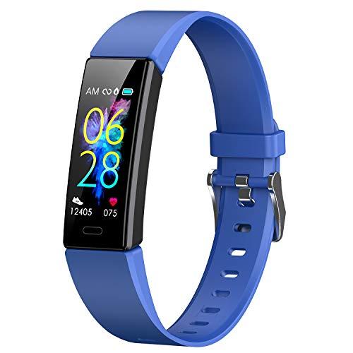 Winisok Fitness Armband mit Blutdruckmessung Pulsmesser, GPS Fitness Tracker Uhr Wasserdicht IP68 Smartwatch Schrittzähler Sportuhr Aktivitätstracker Schlafüberwachung Pulsuhr für Damen Herren Kinder