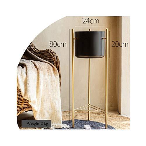 licht Saber DUN vazen Eenvoudige Creatieve Smeedijzeren Bloem Pot Stand Vaas Balkon Woonkamer Interieur Nordic Home Yard Balkon Decoratie Ornamenten