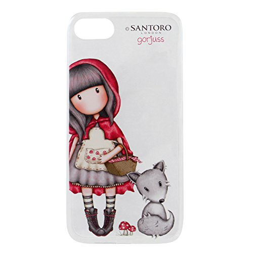 Funda Flexible Gorjuss iPhone 8 - Little Red Riding Hood
