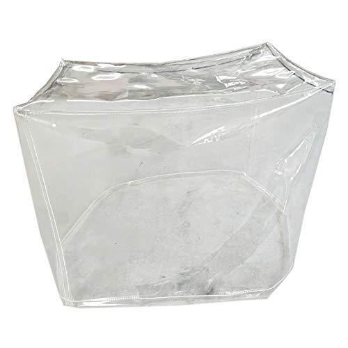 ALGFree Transparente Impermeable Cubrir Lona de Protección, Jardín Funda Muebles Patio Cobertizo De Tela Lluvia Nieve Protección contra El Clima, Personalizable (Color : Clear, Size : 150x130x90cm)