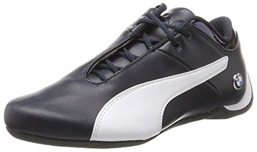PUMA BMW Ms Future Cat, Scarpe da Ginnastica Basse Unisex – Adulto, Blu (Team Blue- White), 41 EU