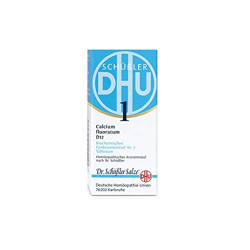 DHU Schüßler-Salz Nr. 1 Calcium fluoratum D12 Tabletten, 200 St. Tabletten