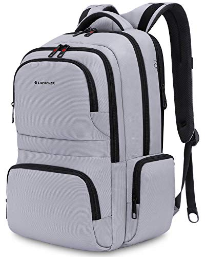 KUPRINE Travel Anti Theft Slim Durable Laptop Backpacks for Women Mens Lightweight Water Resistant College Computer Backpack Fits Most 15.6 Laptop & Tablet
