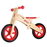 Best Sporting Bicicleta infantil de madera, a partir de 2 – 3 años, sillín ajustable