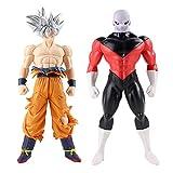 2 Piezas Dragon Ball Z Super Ultra Instinct Goku Migatte No Goku Jiren PVC Figura De Acción Modelo J...