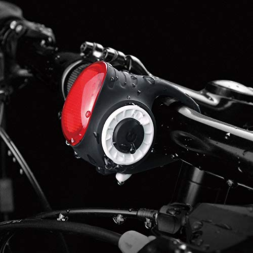 MEILAN Cycle Light S3 Wireless and Smart Control Bike Bell Bicycle Taillight USB Rechargeable Waterproof Bike Rear Light Loud Bike Bell 5 Sounds