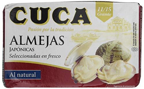 Cuca - Almejas Al Natural 11/15 Piezas Rr-125