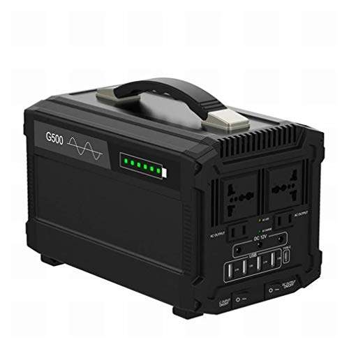 Momcares generador Solar portátil 500Wh 120000mAh estación de energía portátil Outdoor RV Camping Travel Batería del generador