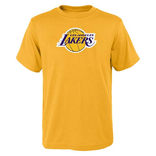 OuterStuff NBA Kinder T-Shirt Los Angeles Lakers Youth Primary Basketball (S (8))