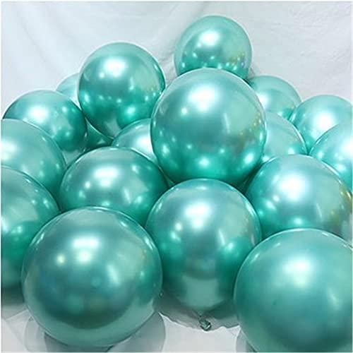 ENHONGDZ Chrome Metallic Sirena Multicolor Latex Globos Metallic Globos Boda Fiesta de cumpleaños Decoración (Color : 1, Size : 1)