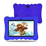 Wecool Kids Tablet 7 inch with Camera, 2GB RAM 16GB ROM, Android 9.0 Pie GMS Certified, WiFi, IPS HD Display, WiFi, Kid-Proof - Blue