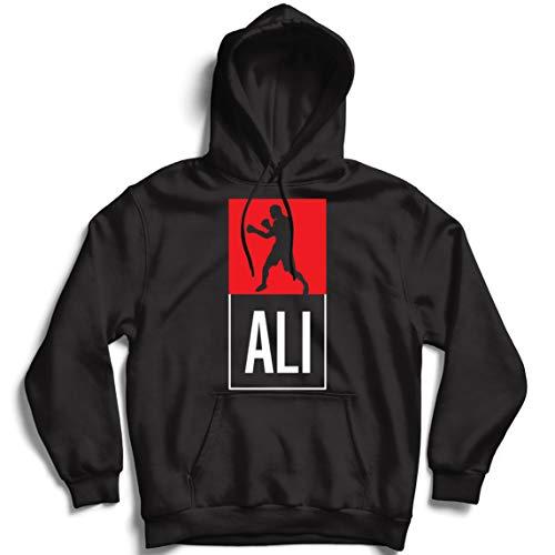 Sweatshirt à Capuche Manches Longues Boxe - dans Le Style de Combat pour la Formation, Les Sports, l