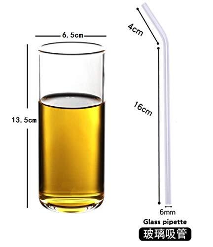 350 ML Tasses à mesurer en Verre borosilicaté Bouilloire Accessoires de Cuisine Lait à mesurer Lait Transparent Tasse en Verre Cook Scale-and_Glass_Pipette_301-400ml