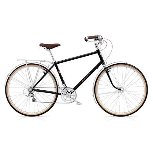 "ELECTRA Herren Fahrrad Ticino 20D Trekkingrad, Schwarz, 20 Gang, Regular, 28"", 194043"