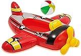 Aufblasbare Baby Boot Kinder Boot Schlauchboot Pool Pool Cruiser Schwimmsitz Schwimm Boot Wasserspielbabysitz for Poolwasser Badesee Meer Motiv Flugzeug Auto Fisch lmkabc