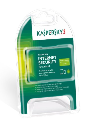 Kaspersky Internet Security for Android für 2 Geräte [import allemand]