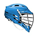 New Cascade CPX-R Lacrosse Helmet with Chrome Face mask (Choose Your Shell Color)-Royal