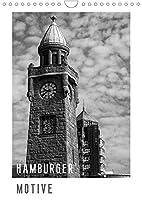 HAMBURGER MOTIVE (Wandkalender 2022 DIN A4 hoch): Bunte Vielfalt, aber in Schwarzweiss (Monatskalender, 14 Seiten )