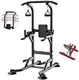 DAGCOT Power Tower Entrenamiento Abdominal Ejercicio Power Tower Altura...